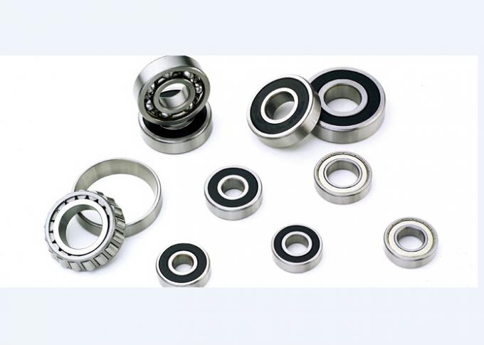 Stainless Steel Deep Groove Ball Bearings / Chrome Steel Double Sealed Bearings 6201-2rs