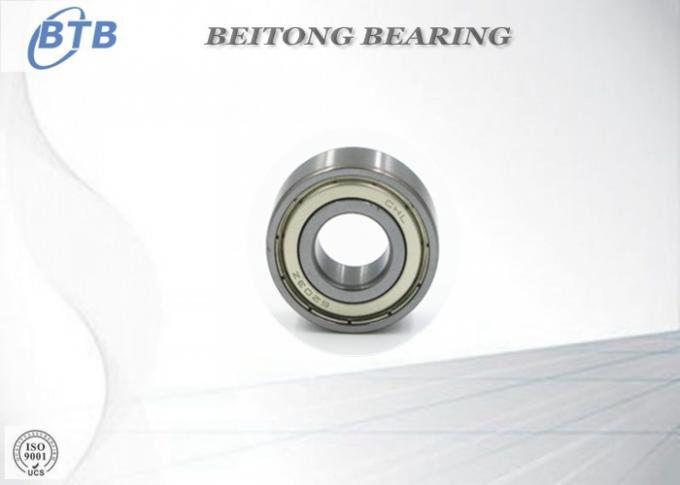 High Precision Gcr15 Deep Groove Ball Bearing 6203 ZZ Miniature For Ceiling Fan Use