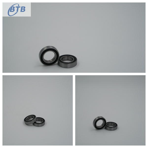 Long Life High Precision Deep Groove Ball Bearing 6801- RS For Textile And Cars