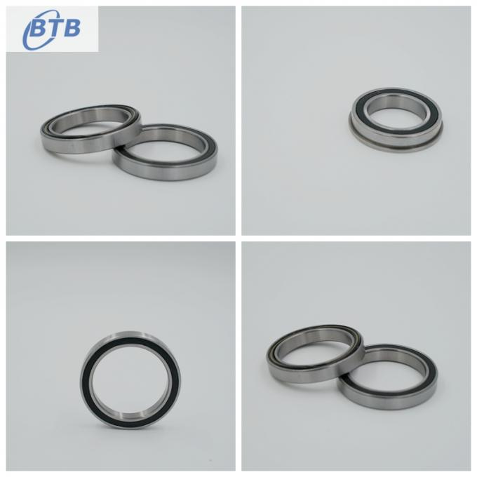 61807 - 2RS Low Noise Thin Ball Bearings , High Speed Ball Bearings