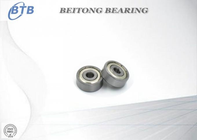 637 - ZZ Stainless Ball Bearings , Deep Structure Motor Sleeve Bearing