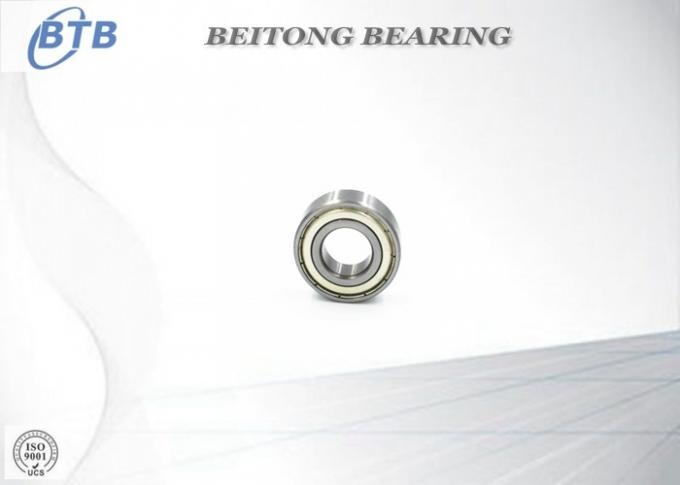 Deep Groove Stainless Ball Bearings , Small Radial Ball Bearing R12 - ZZ