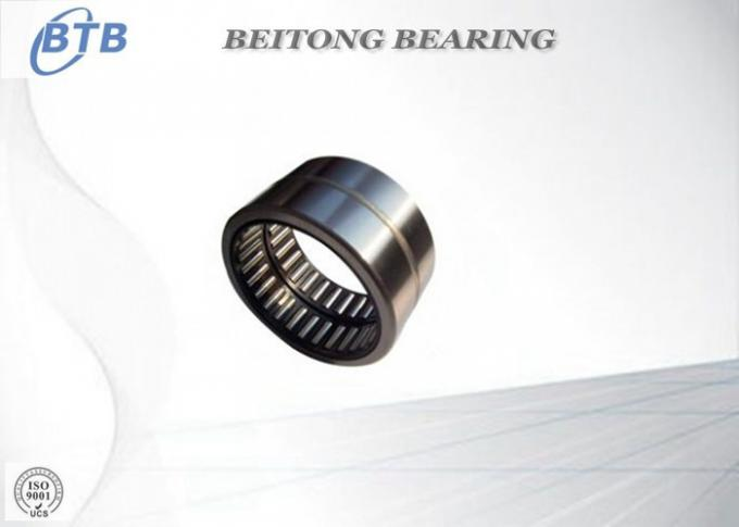 Chrome Steel Heavy Duty Roller Bearings Without Inner Ring NK6 / 10 TN