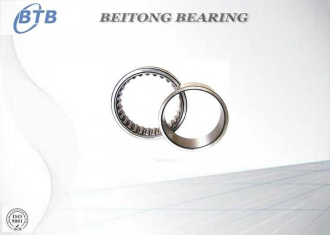 Full Complement Drawn Cup Needle Roller Bearing Textile Flat Steel  NKI 9 / 12