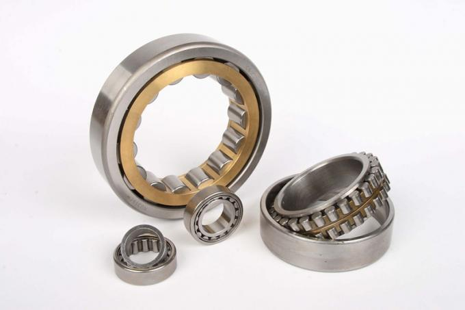 Gearbox High Speed Roller Bearing Cylindrical Double Shields NU214 ECJ