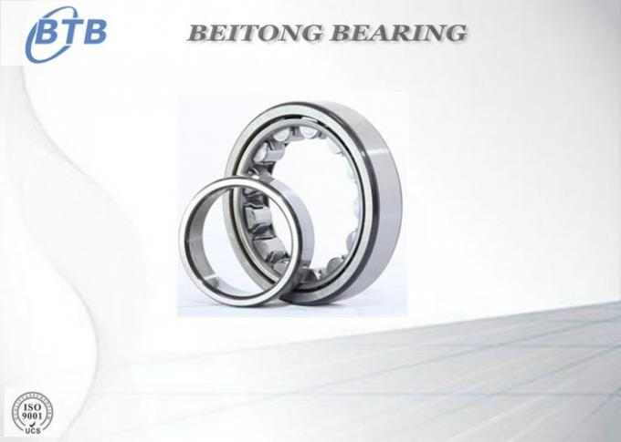 Eccentric Bearing Double Row Cylindrical Roller Bearing Brass Cage RN205M