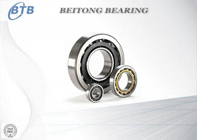 S7206 Angular Contact Ball Bearings , Stainless Steel Bearings 30 X 62 X 18 Mm