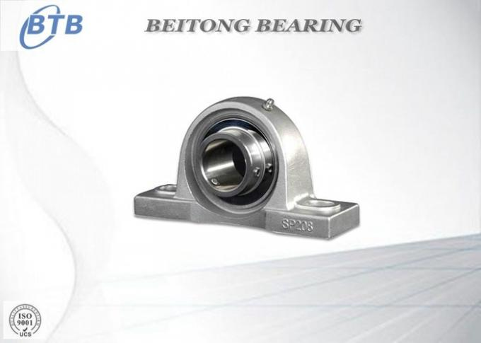 Plastic Housing High Speed Pillow Block Bearings With Stainless Insert Ball Bearing
