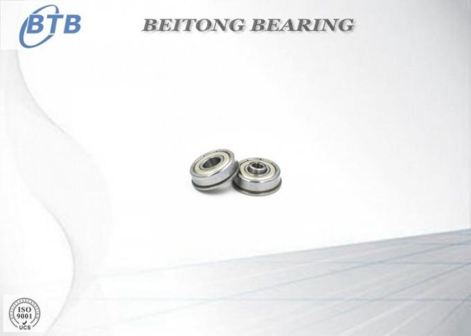 F6000 ZZ Flanged Ball Bearing With Double Shields 10 X 26 X 8 mm