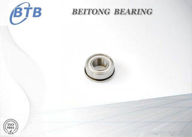 China Chrome Steel Flange Type Bearing , F6800ZZ Machine Tool Bearing supplier