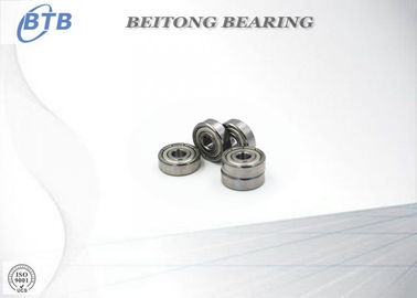 China Low Noise Single Row Deep Groove Ball Bearings For Machine Parts supplier