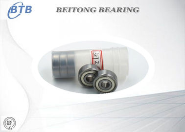 China 627 Z Skate Miniature Ball Bearing , Stainless Steel Deep Groove Ball Bearings supplier