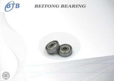 China Mini Deep Groove Metal Ball Bearings , Fishing Reel Bearings 635 ZZ / 2RS 5 X 19 X 6mm supplier