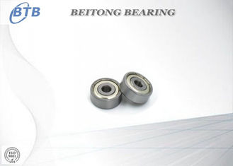 China 637 - ZZ Stainless Ball Bearings , Deep Structure Motor Sleeve Bearing supplier
