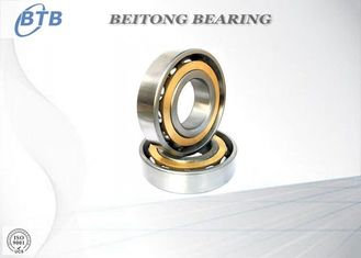 China Double Shields Miniature Angular Contact Bearings , High Speed Automotive Ball Bearings supplier