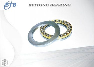 China Easy Mount Heavy Duty Ball Bearing , Sealed Small Thrust Bearings 17 X 30 X 9mm supplier