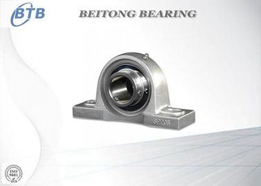 China Stainless Steel Pillow Block Mounted Bearing SUCF205 With Low Vibration supplier
