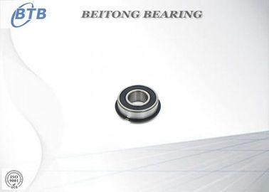 China Miniature Precision Miniature Flanged Ball Bearings F6802 - 2RS Double Shields supplier