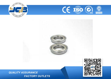 Flanged Stainless Steel Roller Bearing F6800ZZ 8x16x5mm High Precision