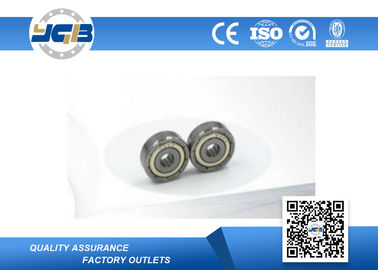China Double Sealed Grooved Roller Bearings 635-Z / High Speed Bearings 5x19x6mm supplier