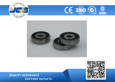 China Stainless Steel Deep Groove Ball Bearings / Chrome Steel Double Sealed Bearings 6201-2rs supplier