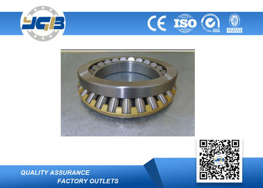 Single Row Open Ball Bearing With Brass Metal Cage Carbon Steel Material