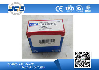 3204 ATN9 Double Row Angular Contact Bearing For High Frequency Motor & Machine Tool Spindle