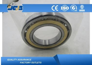 High Precision Brass Cage Motor Ball Bearing Contact Angle 7216 BECBM