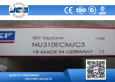 NU310ECM NU311ECM Single Row Cylindrical Roller Bearing For HInteral Combustion Engine