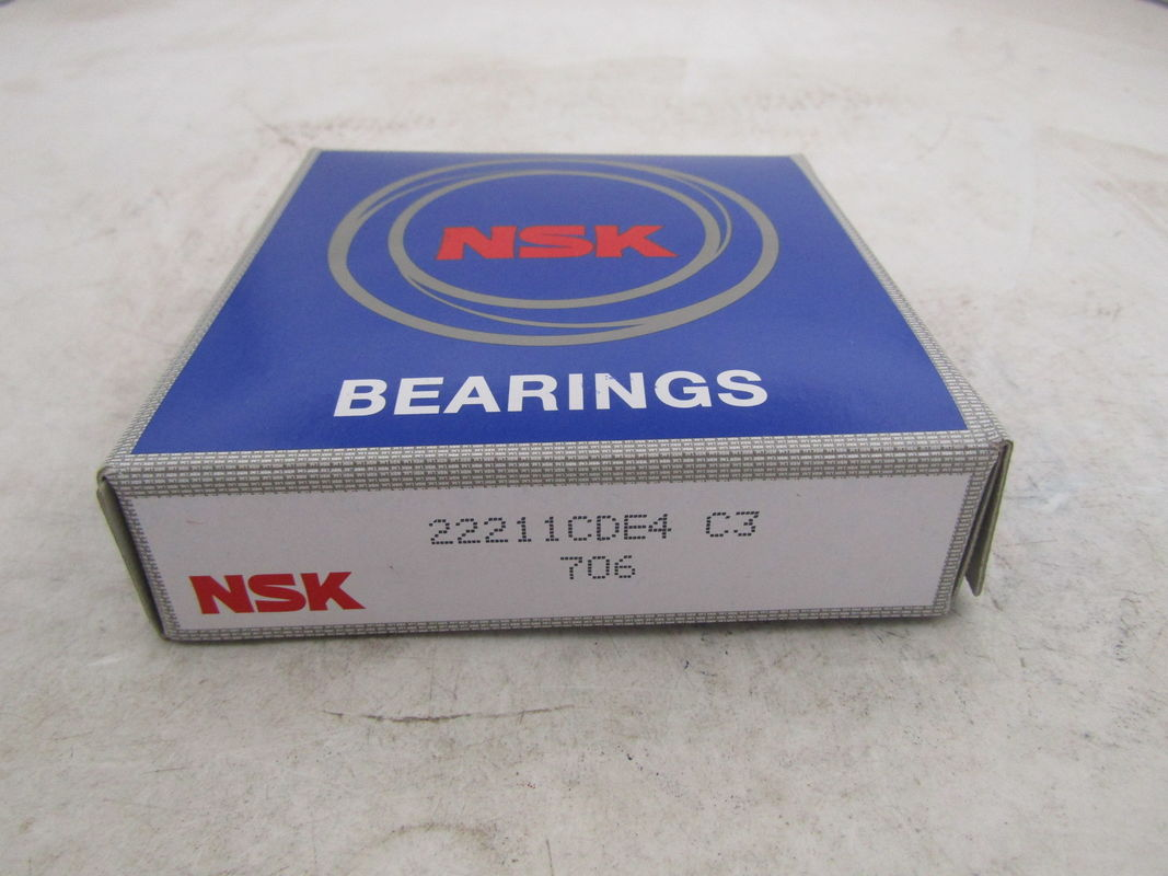 Professional 22212 Chrome Steel Spherical Roller Bearing For Paper - Making