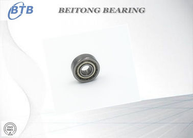China 605-2RS Motorcycle Wheel Bearings , Deep Groove Radial Ball Bearing  5X14X5 Mm distributor