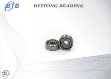 China High Speed Small Deep Groove Bearing , Sealed Ball Bearings For Moving Door Rollers 625 ZZ distributor