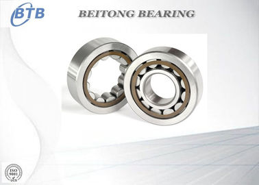 China High Speed Roller Cage Bearing , Small Electric Motor Bearings NF215ETN1 distributor